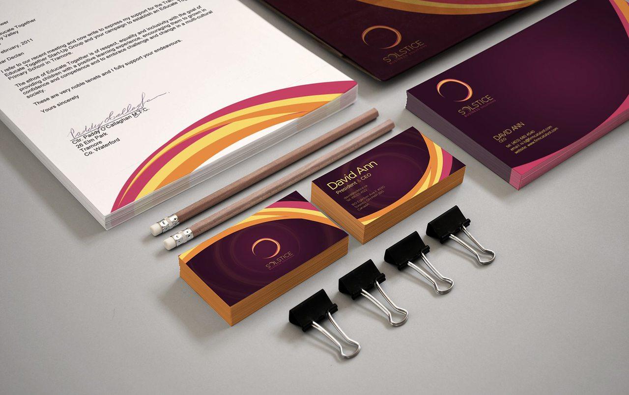Solstice Calgary Branding Design