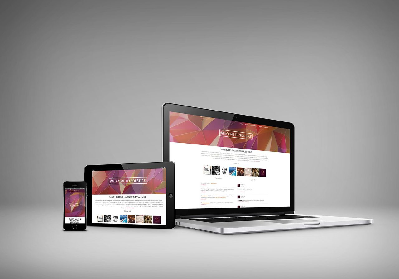 Solstice Calgary Web Design