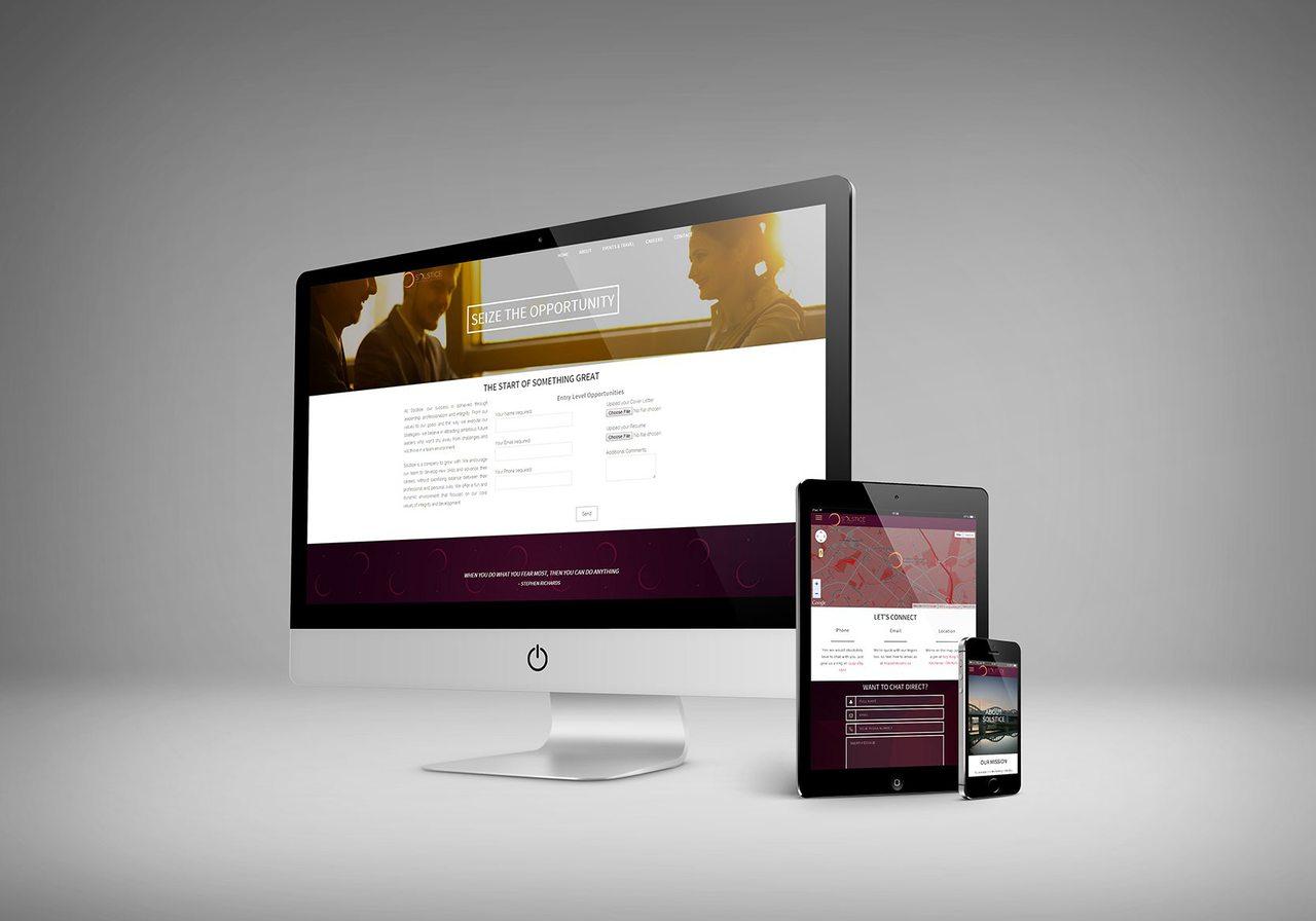 Solstice Web Design Calgary