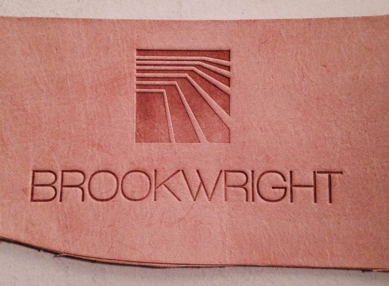 Brookwright-Leather-Logo-Design