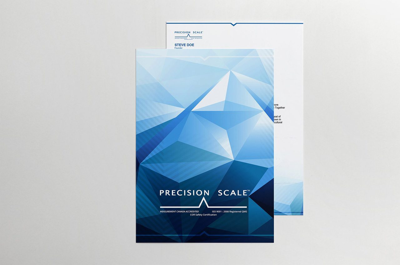Precision Scale Calgary Branding