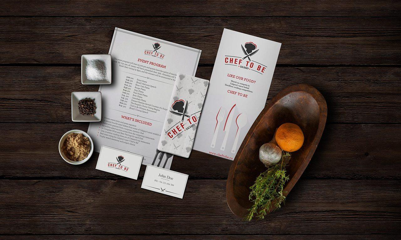 Chef to Be Calgary Branding