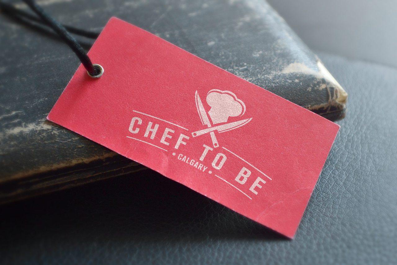 Chef to Be Logo Design Calgary