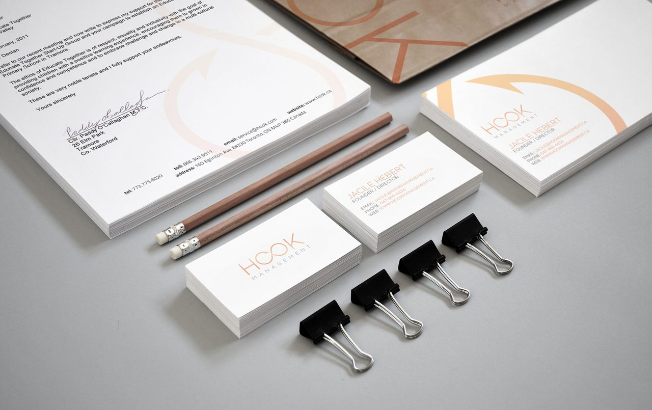 Hook Management Toronto Branding