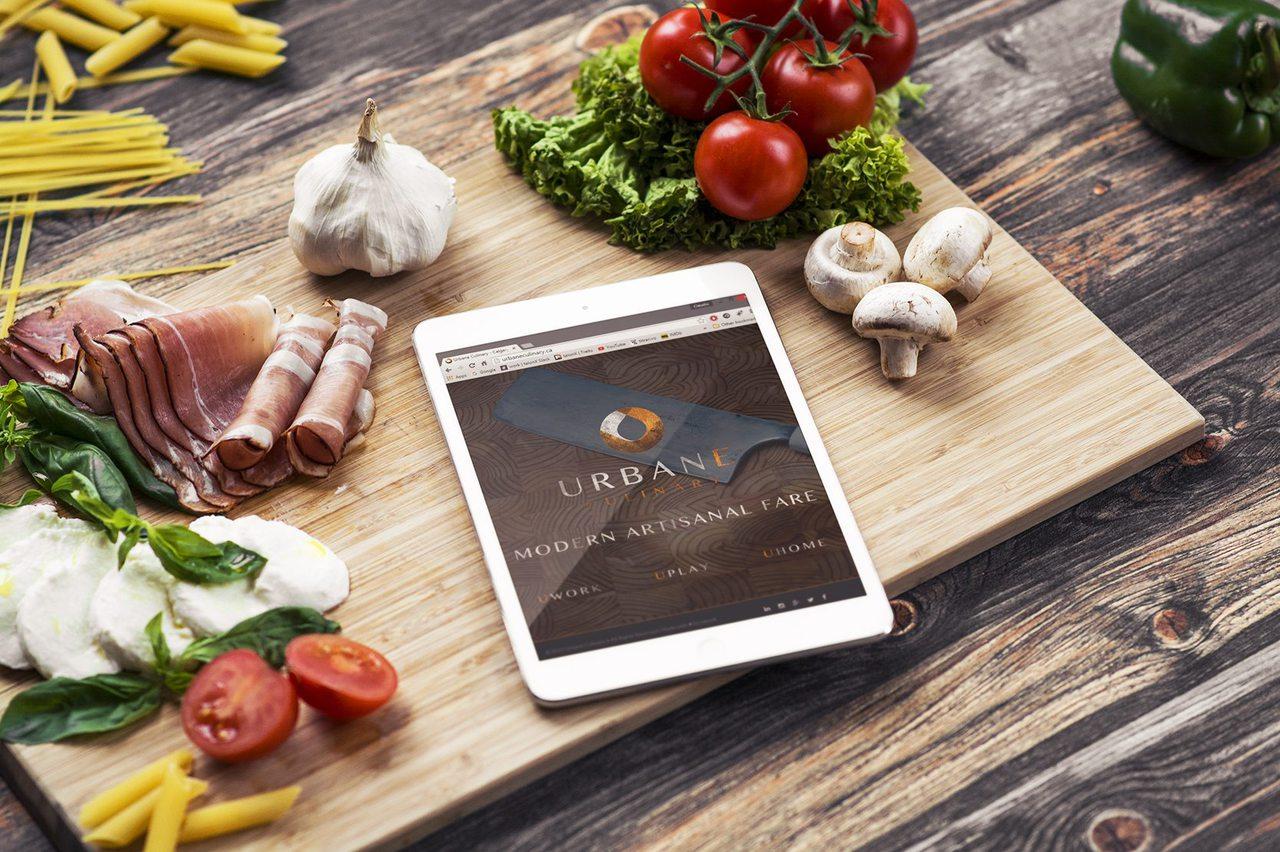 Urbane Culinary - Calgary Responsive Web Design