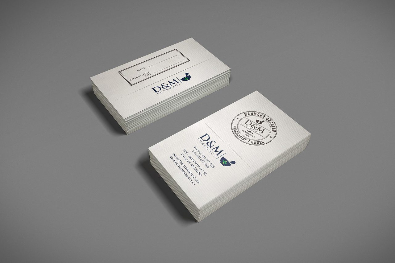 Calgary business Card Design