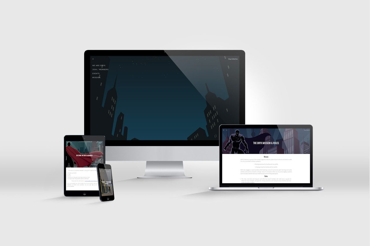 ONYX Collective Web Design
