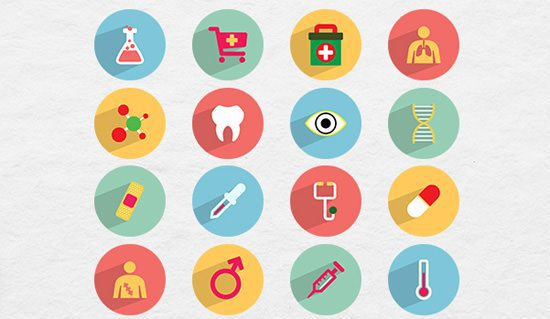 30-free-flat-style-icons-september-2014-medical-icons