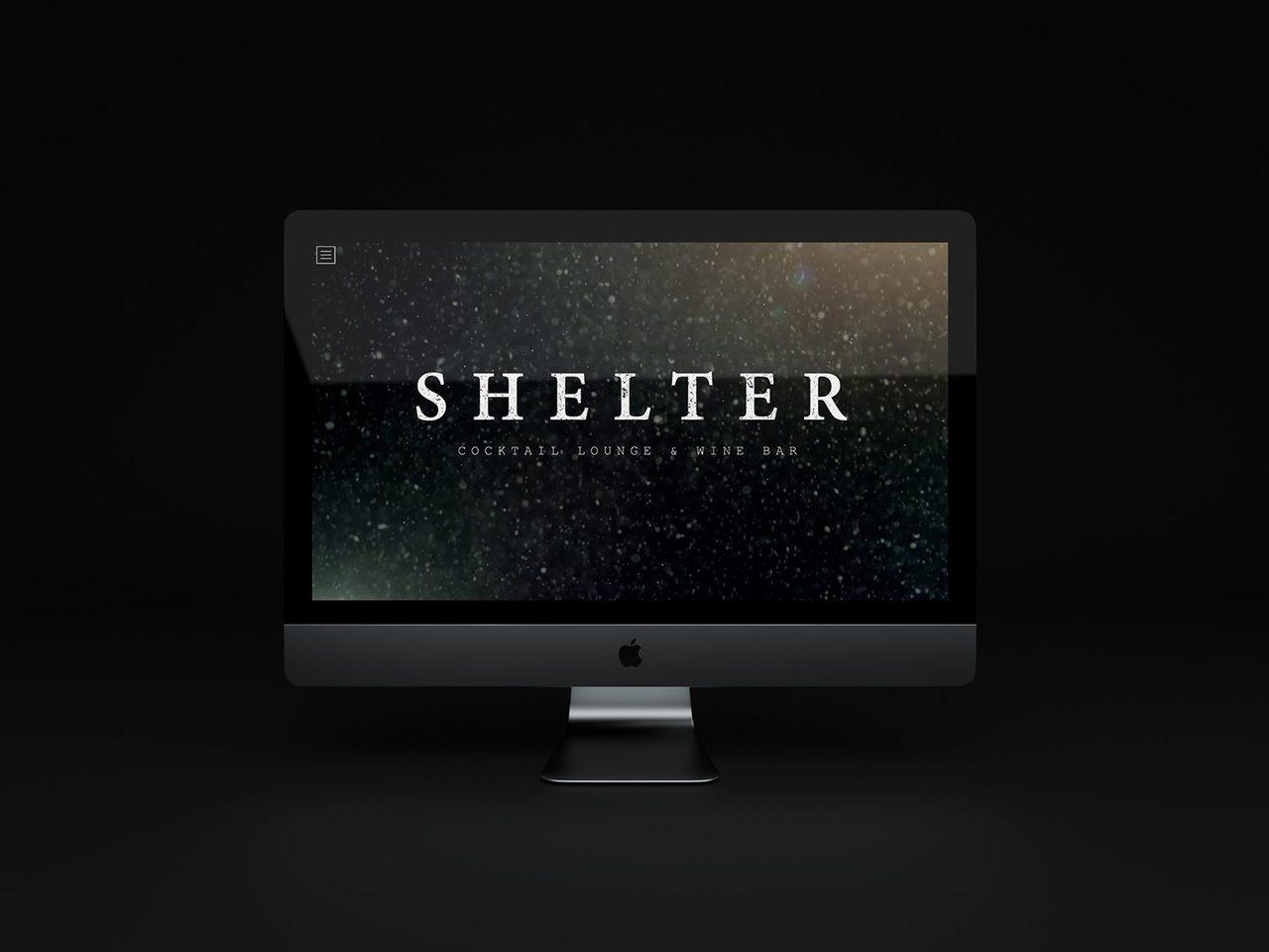 Shelter site mock 3