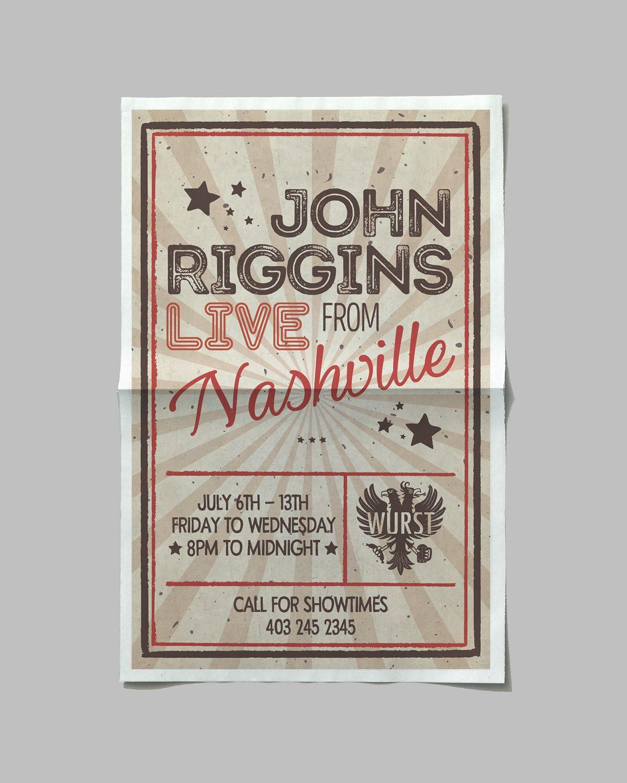 Wurst Poster_John Riggins